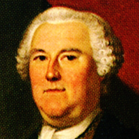 Royal Governor Benning Wentworth, brother of Sarah Macpheadris Jaffrey. </br>[i]Detail[/i]