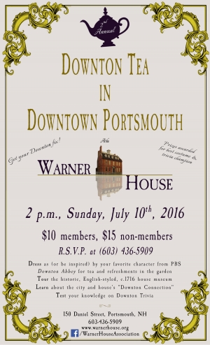 Downton Tea In Downtown Portsmouth 2016